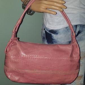 SIGRID OLSEN Pink Leather Purse, Shoulder Handbag